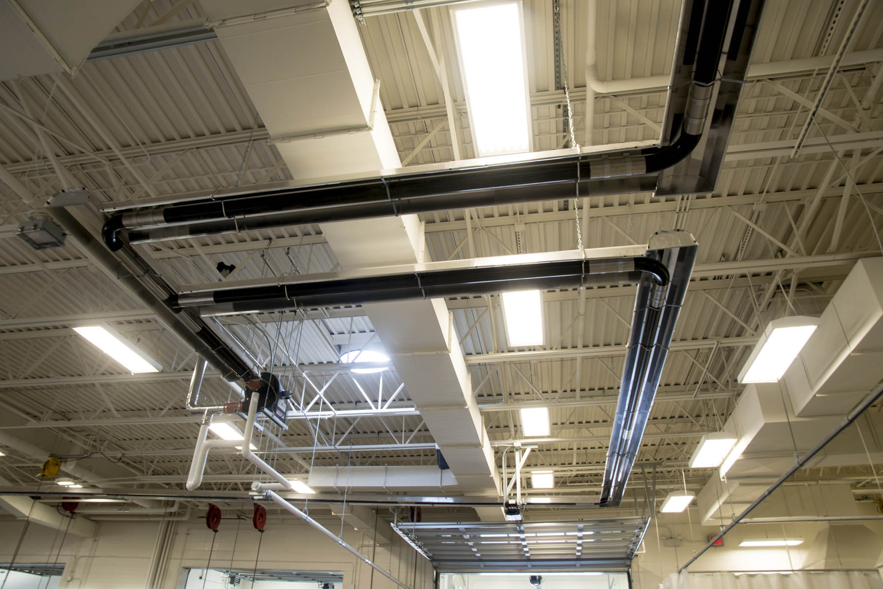 Infrared Heating Installation